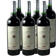 6 bouteilles La Rose d'Argent Bdx Sup rouge 2009