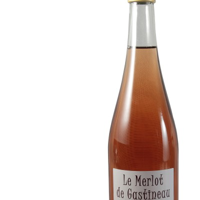"""Bouteille 75cl """"Le Merlot de Gastineau"""""""