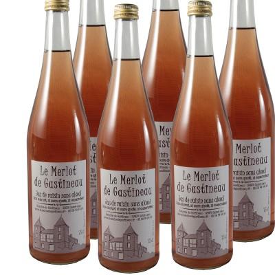 """6 Bouteilles 75cl """"Le Merlot de Gastineau"""""""