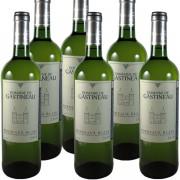 6 bouteilles Blanc Domaine de Gastineau 2010