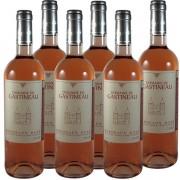 6 bouteilles Rosé Domaine de Gastineau 2010